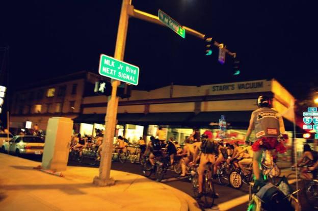 Portland Naked Bike Ride