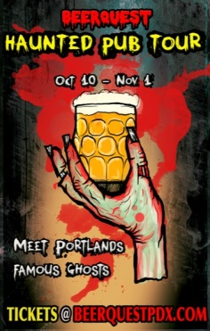 Portland Halloween 2014 BeerQuest Haunted Pub Crawl