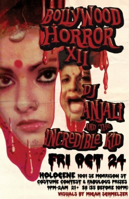 portland halloween dance party - bollywood horror